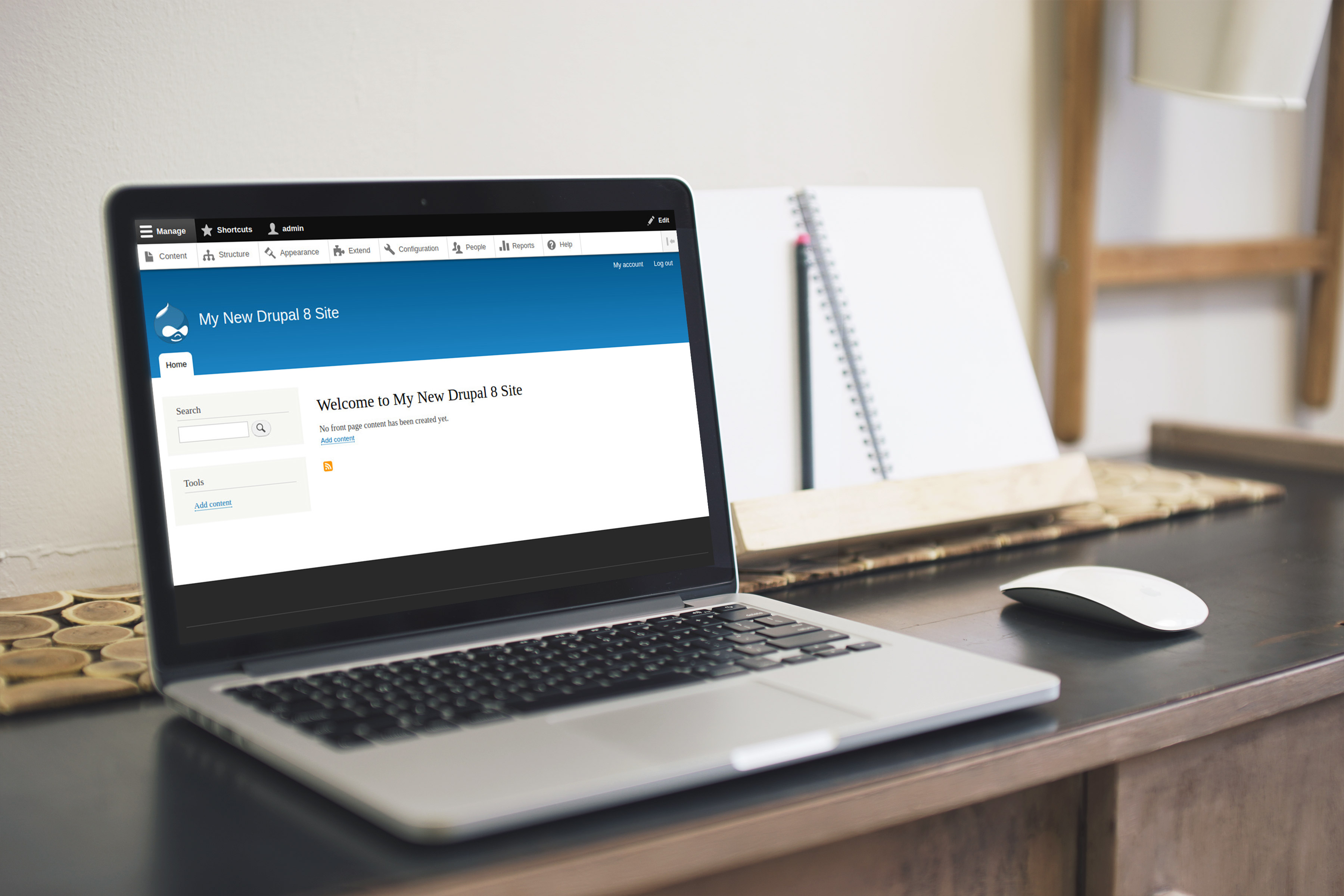 Get started with Drupal 8 - The beginners guide | 42droids Ltd